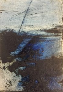 MBR 322 SEA GRASS COLLOGRAPH