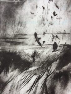 MBR 325 JOYFUL JACKDAW ETCHING
